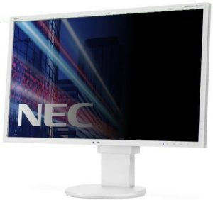 NEC monitor with privacy filter