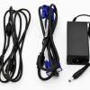Power and VGA cables